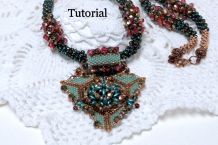 Beading tutorial Karita Peyote Cubic RIght Angle weave