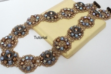Beading tutorial Ring of Fire Necklace